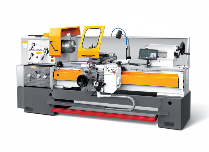Universal lathes with variable spindle speed control